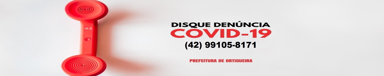 Disque Den�ncia - Covid